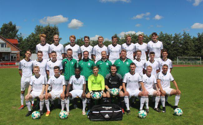 Mannschaftsfoto U23